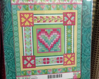 Heart's Delight BOM, by Amanda Murphy, quilt kit