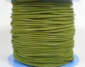 2mm Round Suede Cord - Green - 2MRS-16 - Choose Your Length