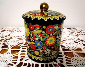 Tea Tin Vintage English