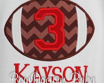 Football Birthday Shirt, Football Party, Sports Birthday, Toddler Football, Sports Party, Boys Birthday Party, Football Bodysuit, Custom