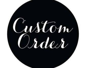 Custom Order Baby Blanket