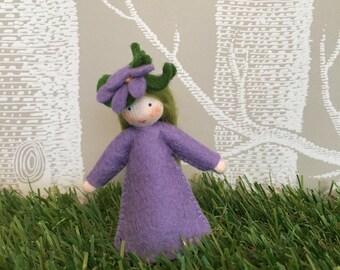 Violet Flower Fairy