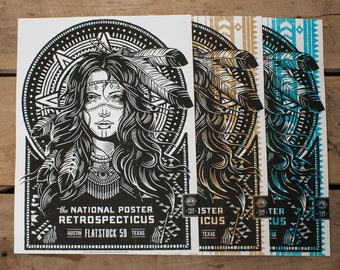 The National Poster Retrospecticus - Flatstock 59