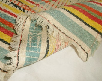 4 vintage Woven Table Covers • placemats