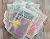 Super Mini Paper Pack / 25+ Pieces / Vintage & New  / Grab Bag / Scrap Pack
