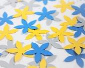 100 Flowers - Paper Confetti - Flower Confetti - Spring and Party Confetti - Flower Confetti - 100% Handmade - Made to Order.