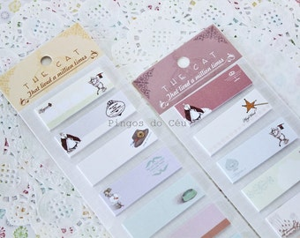 The CAT - Memo Pad - Sticky Note - Post It - Bookmarker - Planner - Diary Planner - Bookmark - Ready to ship