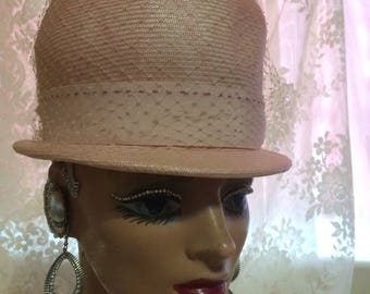 Cute Little Shabby Chic Straw Hat