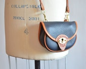Vintage DOONEY & BOURKE leather shoulder bag/belt bag