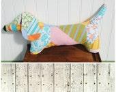 HUGE SALE Stuffed dog stuffed animal dachshund stuffed animal (D60)