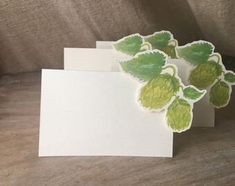 Hops - brewery wedding - beer wedding Wedding Place Card - Gift Card - Table Number Card - Menu Card -weddings events