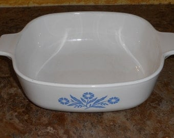 Vintage Blue Cornflower Baking Dish-1 Quart