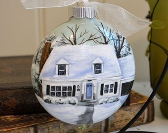House Ornament, Home Painting, Custom