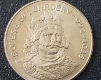 King Boleslaw  Poland 50 Zloty 1980