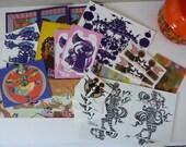 Collection of Bjorn Wiinblad cards