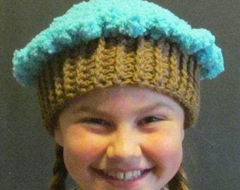 Crochet Cupcake Hat ~ Size Medium