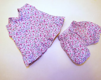 Tank Top and Knickers to Fit Bitty Baby Size Doll