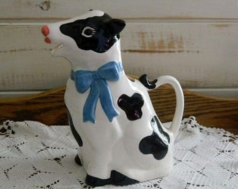 B&D Cow Pitcher - Vintage Pitcher - Made in Japan