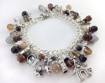 Dog Lovers Charm Bracelet