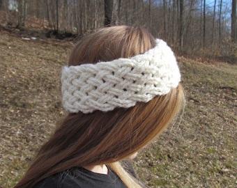 Winter Woven Ear Warmer or Headband