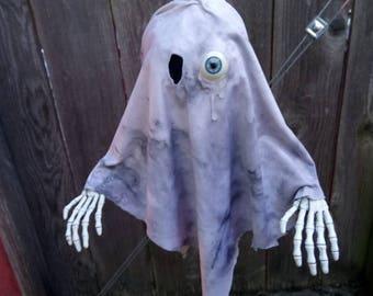 One Eyed Ghost - Original Hanging Halloween Decoration