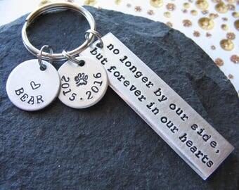 Custom Pet Keychain - Pet Memorial Keychain - Personalized Memorial Keychain - Dog Loss Keychain - Pet Loss Keychain - Pet Keychain - Friend