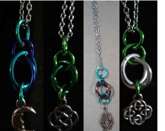 Orb Chainmaille Necklace