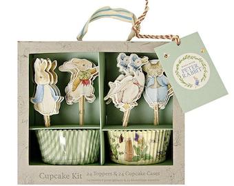 Peter Rabbit Cupcake Kit- Peter Rabbit Party