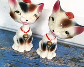 Vintage Cat Bobblehead, Vintage age Cat Nodder, Vintage Cat Figurine, Vintage Japan Cat, Vintage Siamese Cat