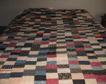 Antique Handmade Cotton Quilt