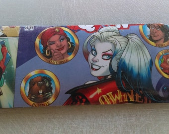 Comic Book Wallet - Harley Quinn with slight defect 25% Off