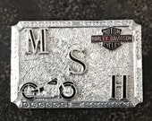 Harley Davidson Motorcycle Buckle Vintage Hook Fast Salesman's Sample New Old Stock Etsy Dudes
