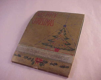 Giant Christmas Matchbook Matches