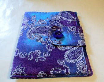 Purple Batik iPad Cover
