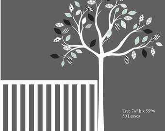 Kids Decals Kids Wall Decals Tree Sticker Baby Nursery Decal