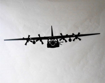 AC-130U Aircraft Military Metal Wall Decoration USAF Spooky Gunship Lockheed