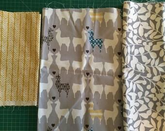 Scrap Pack - Organic Canvas Fabric