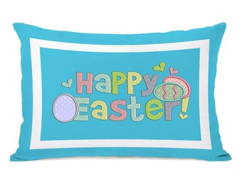 Happy Easter Applique Machine Embroidery Design