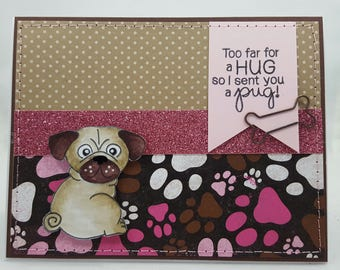 Pug Hugs - Creations By Wendalyn, Spring, Birthday, Sewn, Dogs, Pugs