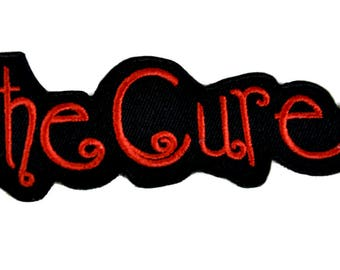 The Cure Patch Iron on Applique Robert Smith Alternative DIY Clothing Horror - YDS-EPP120-PATCH