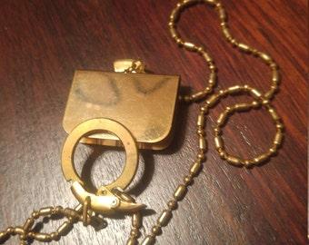 Vintage Pocket Watch Holder