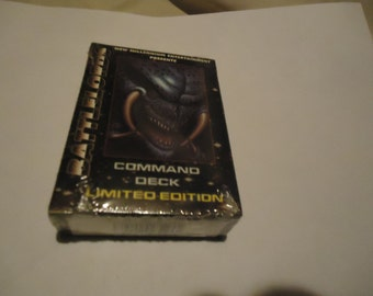Vintage 1995 Battlelords Command Deck Limited Edition Card Game Sealed In Package, collectable