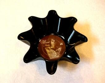 Neil Diamond Record Bowl Made From Vinyl Album