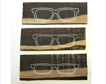 Customized handmade two tone ebony wood frames prescription glasses sunglasses TAKEMOTO