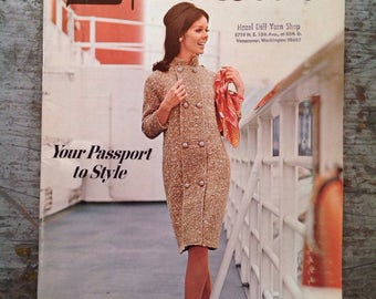 Vintage 1967 Spinnerin Yarn Knitting Pattern Book Volume 178