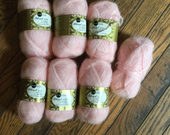 Vintage Sears Blend 131 Mohair Yarn 6+ Skeins