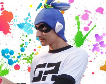 Splatoon Hat, Squid Inkling Boy Hat, Splatoon Cosplay, Comic Con, Gift for him, Gifts for boys