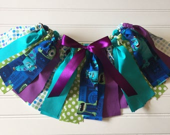 Monster inc Birthday Party - Monster inc Baby Tutu - Monster inc Party - Little Girl Skirt - Monster Inc Birthday Outfit  - Birthday Skirt
