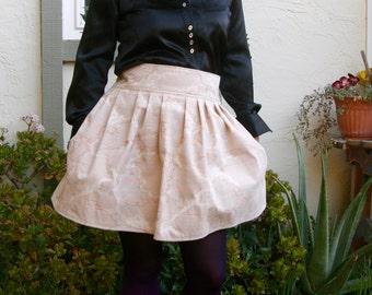 Neon Cloud Fabric Skirt for Halloween