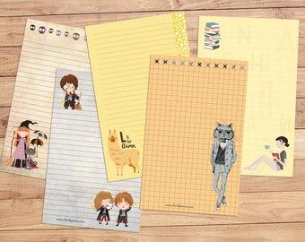 Grab Bag - A5 Stationery - 24 sheets